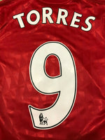Load image into Gallery viewer, AUTHENTIC FC Liverpool #9 Torres 2010/2012 Home Size S Adidas P96751 jersey