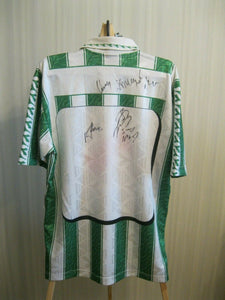 SIGNED SK Rapid Wien 1994/1995 Size L Home Diadora jersey