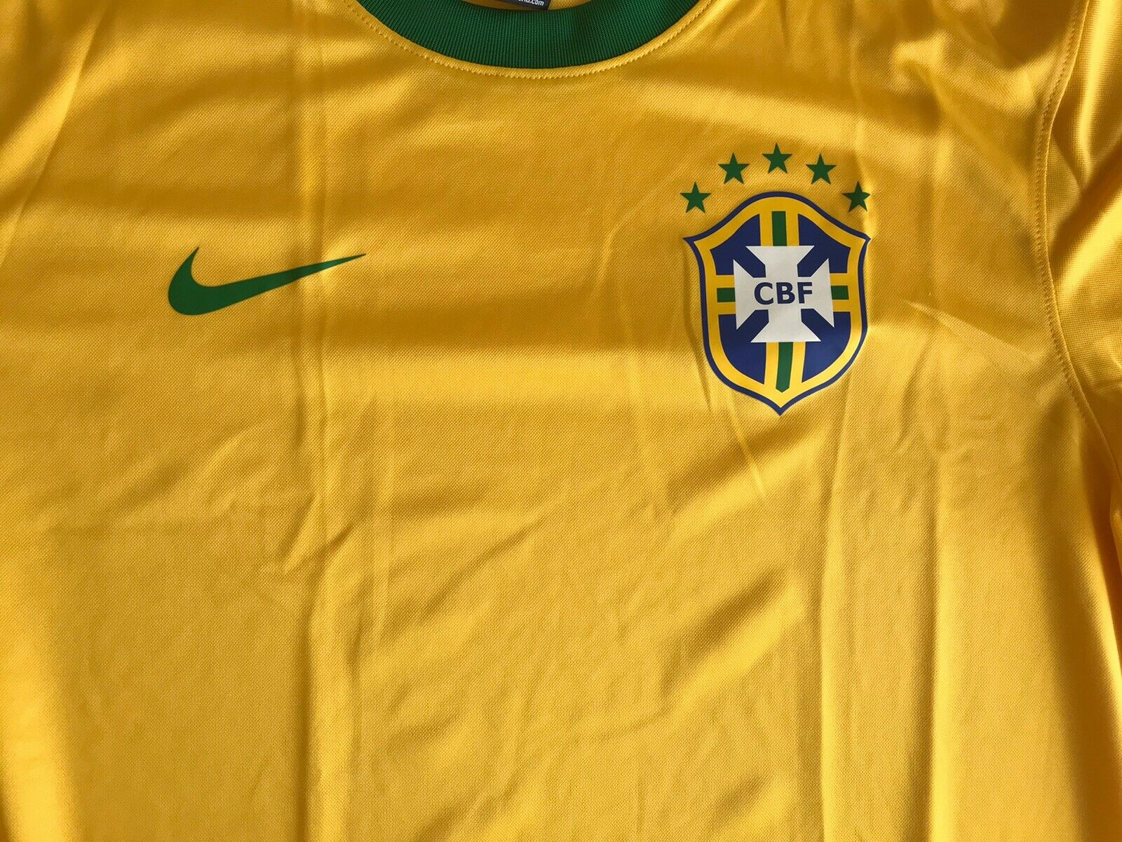 Brazil national team 2016/2017 Home Size L Nike 575715-703 jersey