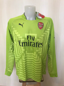 AUTHENTIC Arsenal London 2014/2015 Goalkeeper Size XL Puma 746377 jersey
