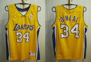 Los Angeles Lakers #34 O'Neal Size M Champion jersey