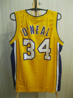 Load image into Gallery viewer, Los Angeles Lakers #34 O'Neal Size M Champion jersey