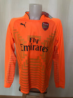 Load image into Gallery viewer, AUTHENTIC Arsenal London 2014/15 Goalkeeper Size XL Puma 746377 jersey