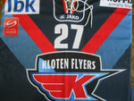 Load image into Gallery viewer, SIGNED HC Kloten Flyers #27 Wick MATCH WORN Size XL jersey