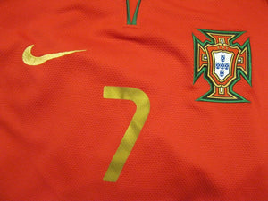 LIMITED EDITION Portugal PLAYER ISSUE #7 Ronaldo 2008/2010 home Size L Nike jersey