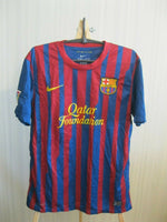 Load image into Gallery viewer, Barcelona #10 Messi 2011/2012 home M Nike jersey