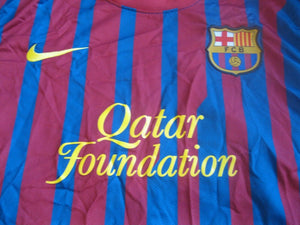 Barcelona #10 Messi 2011/2012 home M Nike jersey