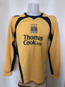 Manchester City 2008/2009 Goalkeeper Size M Le Coq Sportif jersey