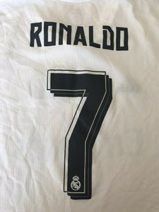 Real Madrid #7 Ronaldo 2015/2016 home Size 3XL Adidas S12652 jersey