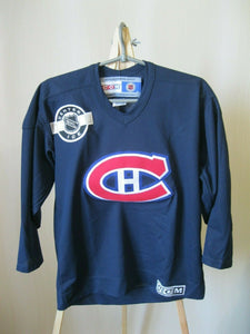 Montreal Canadiens Boys Size L/XL CCM jersey