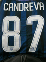 Load image into Gallery viewer, Inter Milan #87 Candreva 2016/2017 home Size XL Nike 776891-011 jersey