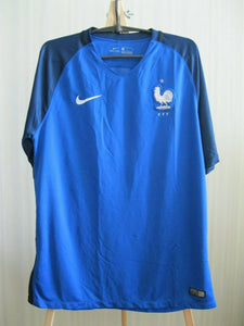 AUTHENTIC France 2016/2017 Home Size L Nike 724615-439 jersey