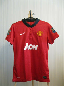 WOMENS Manchester United #19 Welbeck 2013/2014 Home Size M Nike 532883-624 jersey