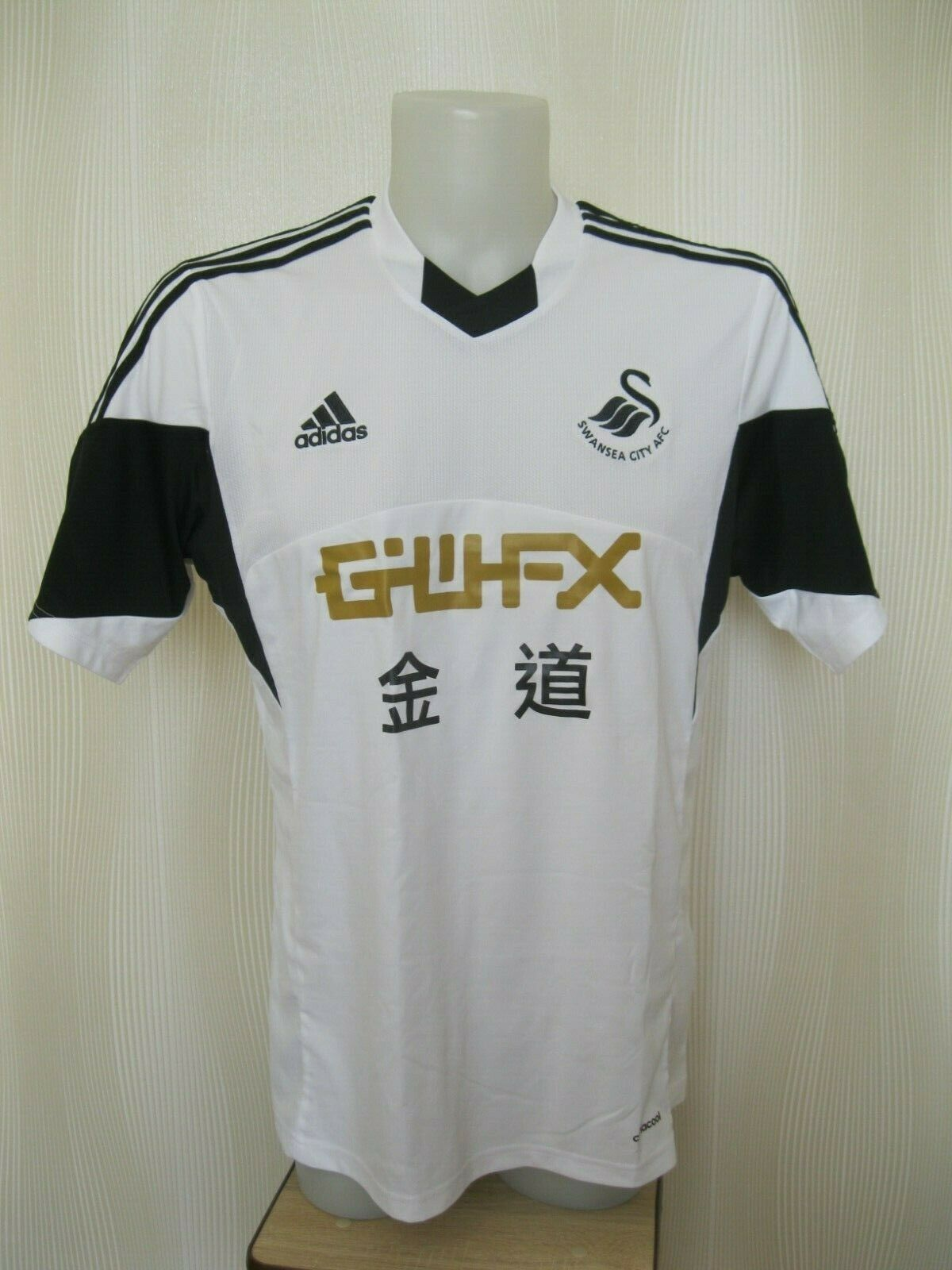 Swansea City 2013/2014 Home Size L Adidas jersey