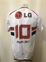 Load image into Gallery viewer, Sao Paulo #10 2008 Home Size L Reebok jersey