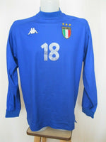 Load image into Gallery viewer, Italy national team 1999/2000 home #18 Size L Kappa jersey