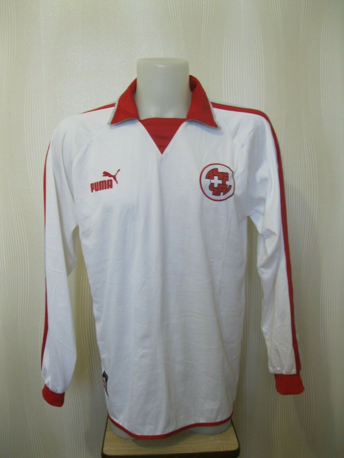 Switzerland team 2002/2003/2004 Size XL Puma 730489 jersey