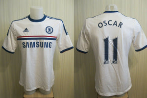 Chelsea London 2013/2014 Away #11 Oscar Size M Adidas Z27645 jersey
