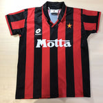 Load image into Gallery viewer, Boys AC Milan 1993/1994 Home Size XL Lotto jersey