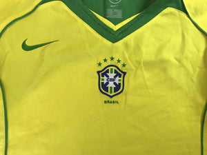 Brazil national team 2004/2006 Home Size M Nike 116603 jersey