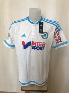 Olympique Marseille #4 Rekik 2015/2016 Home Size L Adidas S11891 jersey