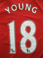 Load image into Gallery viewer, Manchester United #18 Young 2011/2012 Size M Home Nike 423933-623 jersey