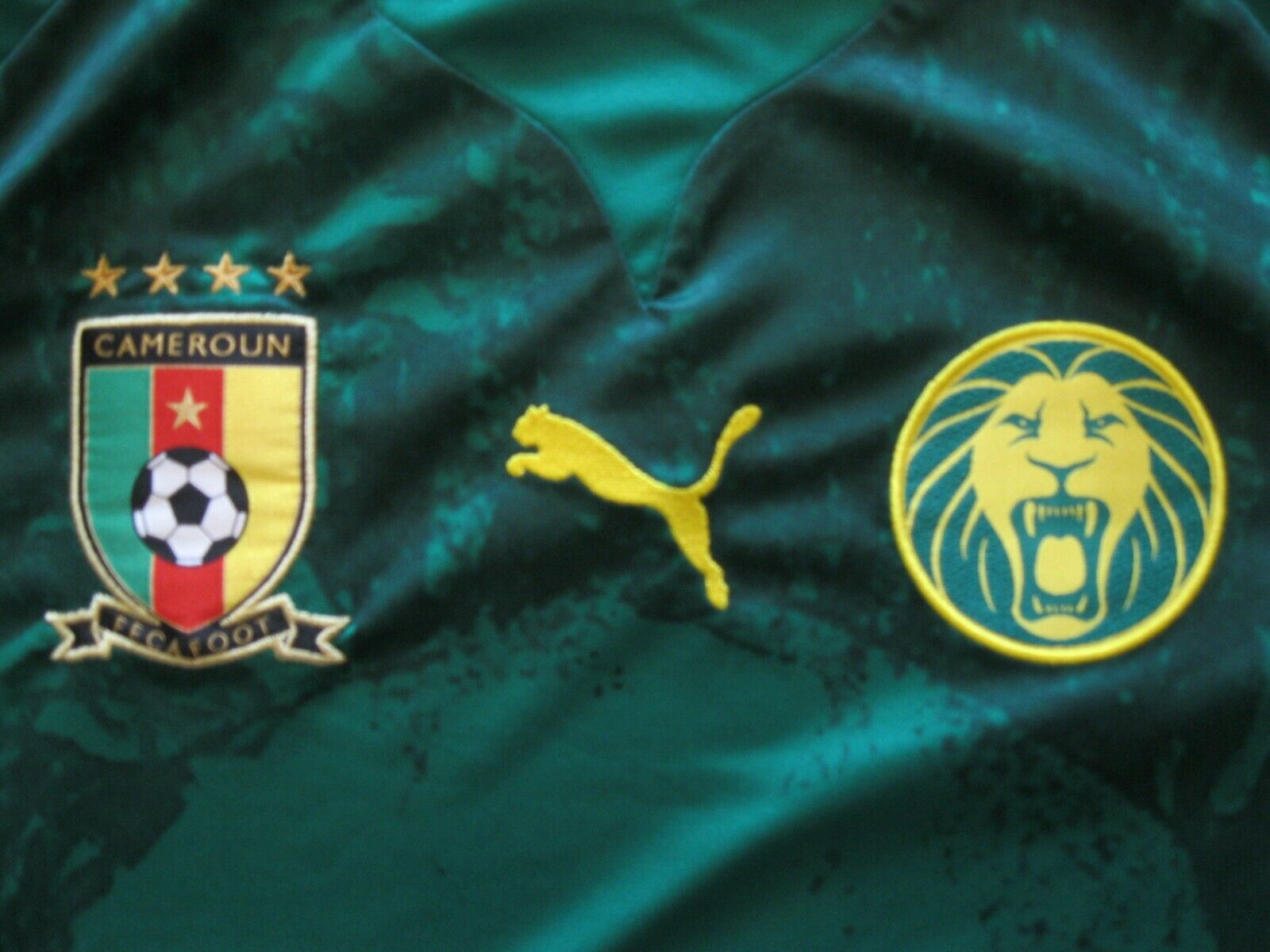 Cameroon national team 2012/2013 Home Size M Puma jersey
