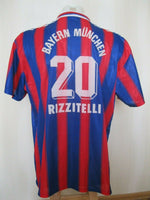 Load image into Gallery viewer, FC Bayern Munich 1995/1996/1997 Home #20 Rizzitelli Size 2XL Adidas jersey