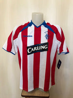 Load image into Gallery viewer, Glasgow Rangers 2003/2004 Away Size L Diadora jersey