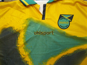 Jamaica national team 2002/2003/2004 Home Size 2XL Uhlsport jersey