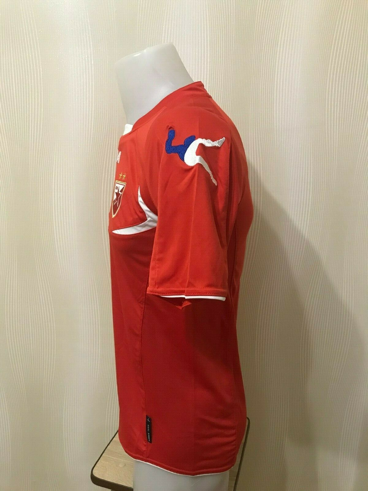 Red Star Belgrade 2012/2013 Home Size S Legea jersey