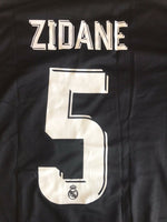 Load image into Gallery viewer, Real Madrid #5 Zidane 2017/2018 Away Size S Adidas BR3543 jersey