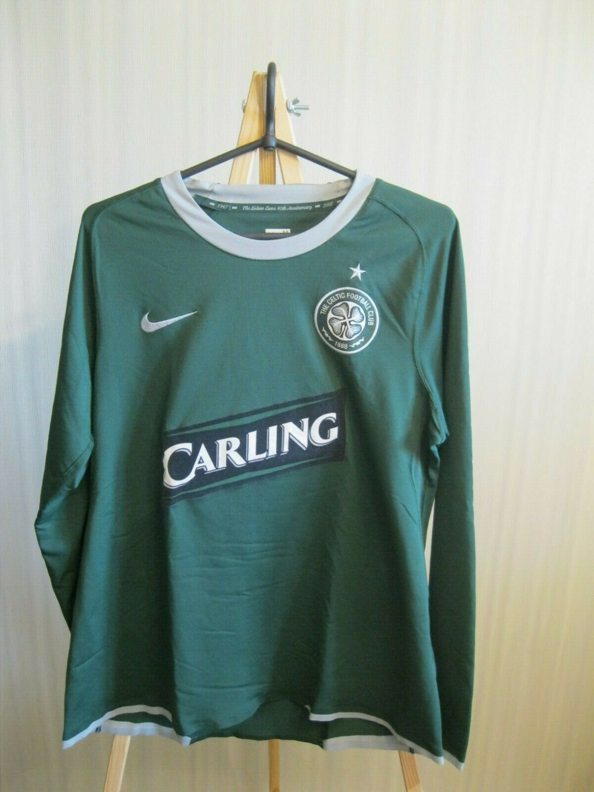 PLAYER ISSUE Celtic 2007/2008 away Size M Nike 237901-310 jersey
