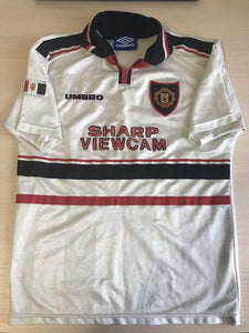 BOYS Manchester United 1997/1998/1999 Away Size 158 Umbro jersey