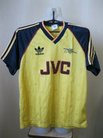 Load image into Gallery viewer, VTG Arsenal London 1988/1989/1990 Away Size M Adidas jersey