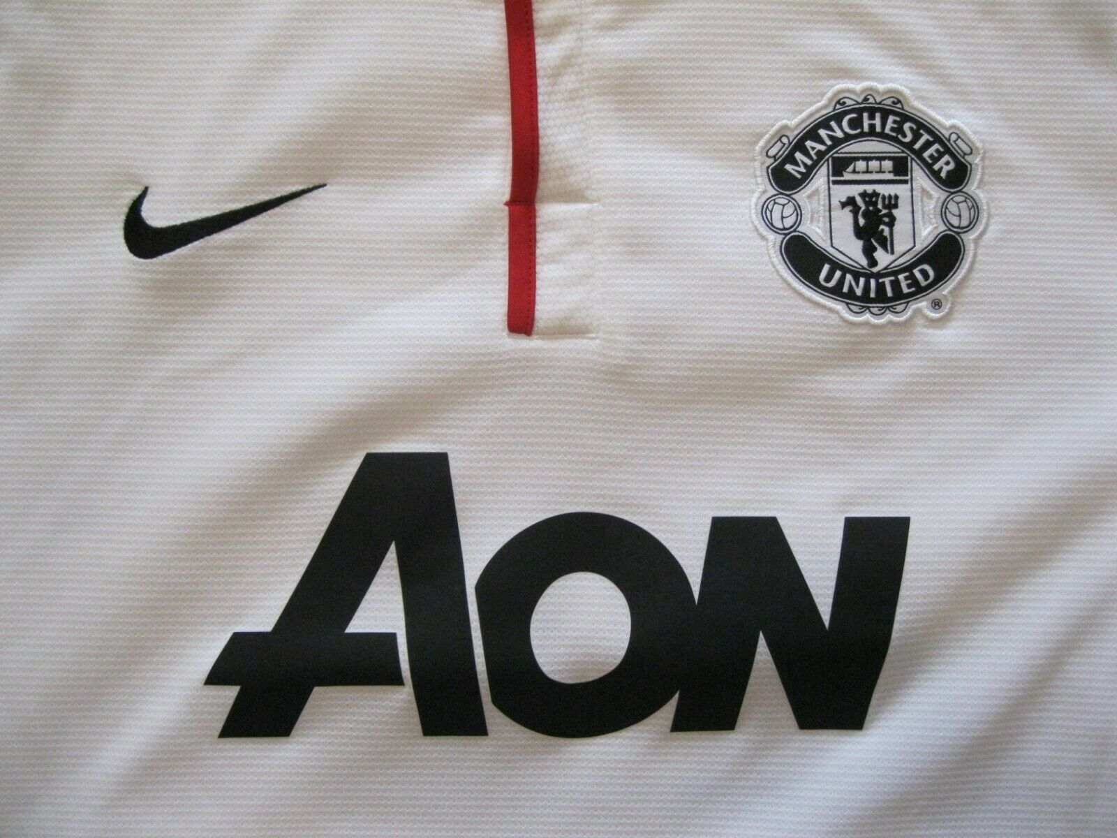Manchester United #23 Cleverley 2012/2013 away Size XL Nike 479281-105 jersey