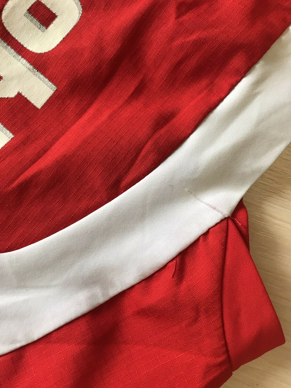 Switzerland team #16 Barnetta 2006/2008 Home Size S Puma jersey