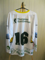 Load image into Gallery viewer, HC Thurgau #16 Size L Swiss jersey