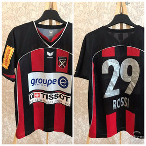 Neuchatel Xamax #29 Rossi 2007/2008 home Size M Erima jersey