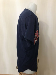 "Atlanta Braves Size 48"" Russell Athletic jersey Diamond collection"