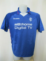 Load image into Gallery viewer, Glasgow Rangers 2002/2003 Home Size XL Diadora jersey