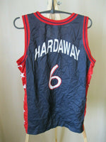 Load image into Gallery viewer, USA team #6 Tim Hardaway Size S Champion jersey
