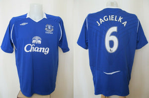 Everton 2008/2009 home #6 Jagielka Size 2XL Umbro jersey