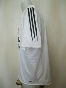 FC Real Madrid 2004/2005 home Size L Adidas 367842 jersey