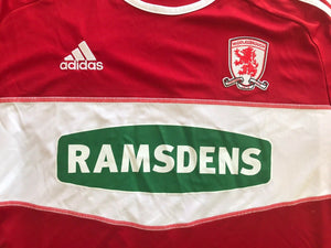 FC Middlesbrough 2012/2013 home Size 3XL Adidas jersey