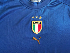 Italy national team 2004/2005/2006 home Size XL Puma 731225 jersey