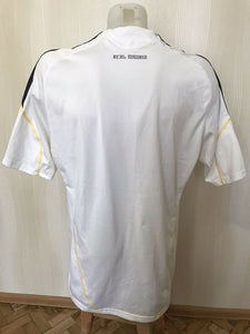 Real Madrid 2009/2010 home Size 2XL Adidas E84352 jersey