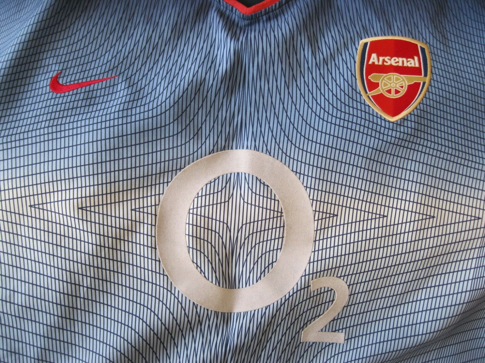 Arsenal London #4 Vieira 2002/2003 Away 2XL Nike jersey