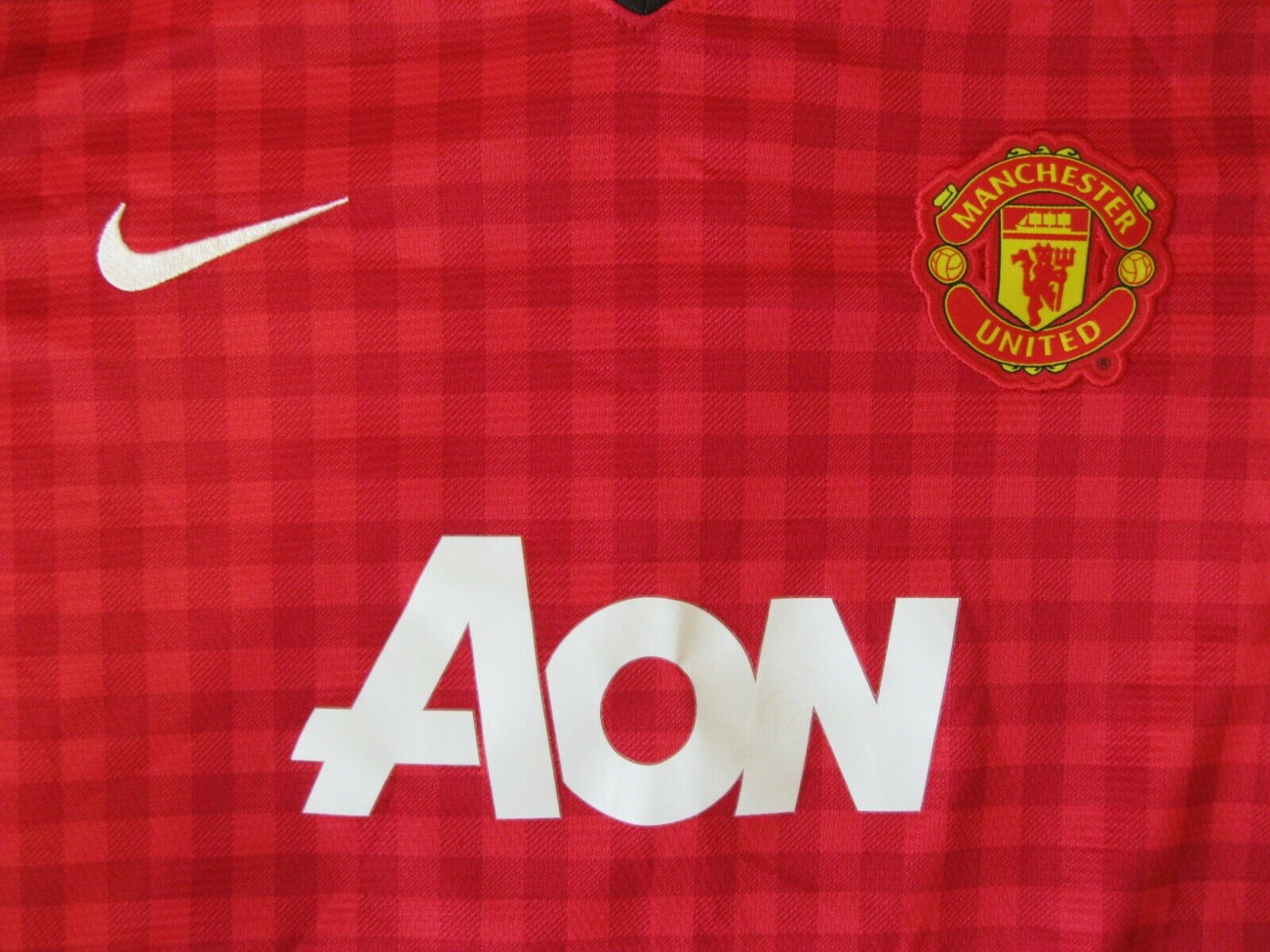 Womens Manchester United #11 Giggs 2012/2013 Home Size M Nike 479286-623 jersey