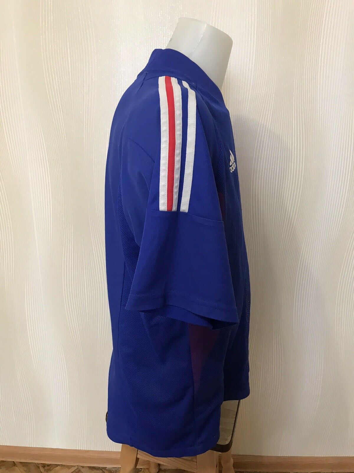 France team 2002/2003/2004 Home Size 2XL adidas AKU001 jersey